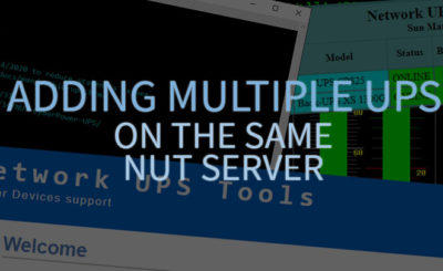 Adding a multiple ups to a NUT configuration