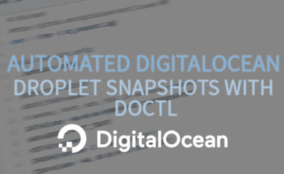 Automated DigitalOcean Snapshots with DOCTL